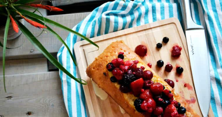 Tres Leches Cake with Summer Fruits