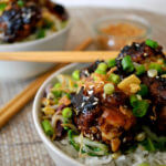 Sticky Chicken Rice Bowl Recipe