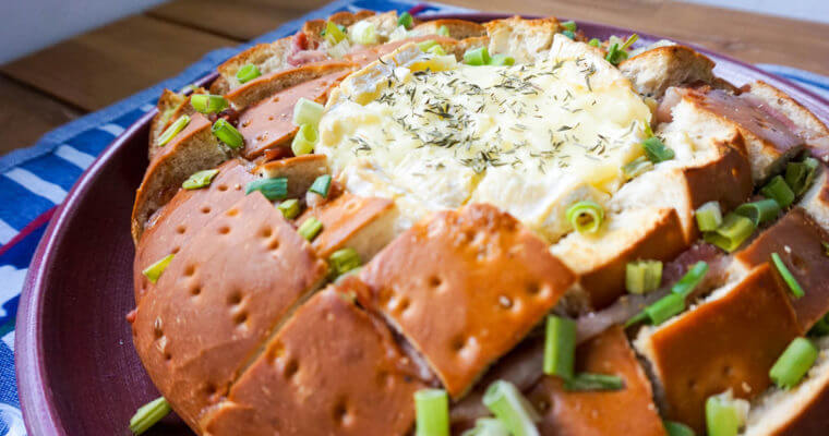 Bacon Pull-Apart Bread with Camembert Recipe