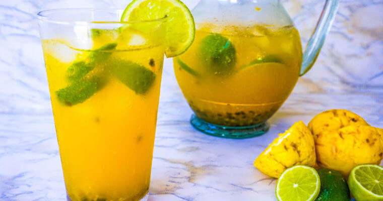 Easy Passion Fruit Lemonade Recipe