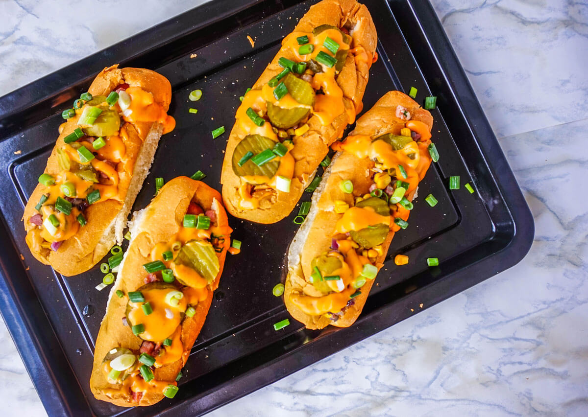 Gourmet Hot Dog Recipe