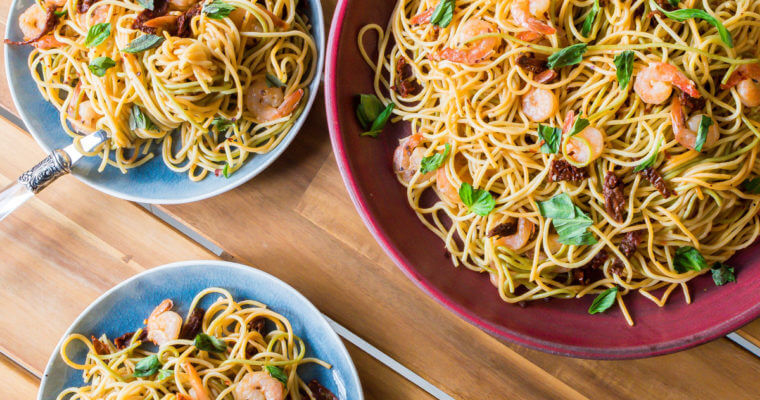 Easy Garlic Shrimp Pasta Recipe