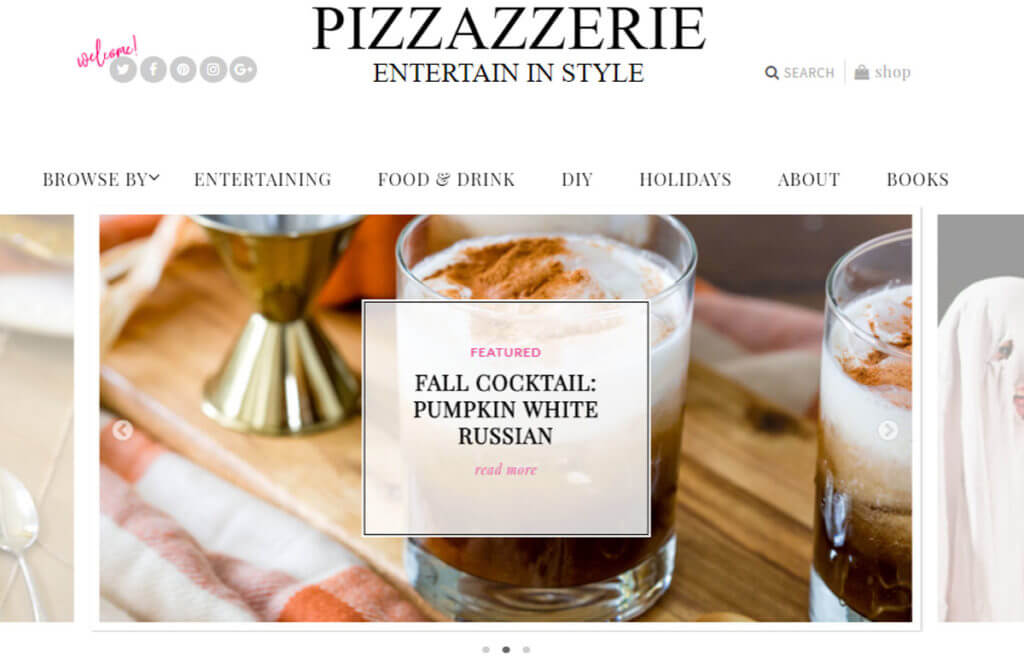 Pizzazzerie Entertaining Blog