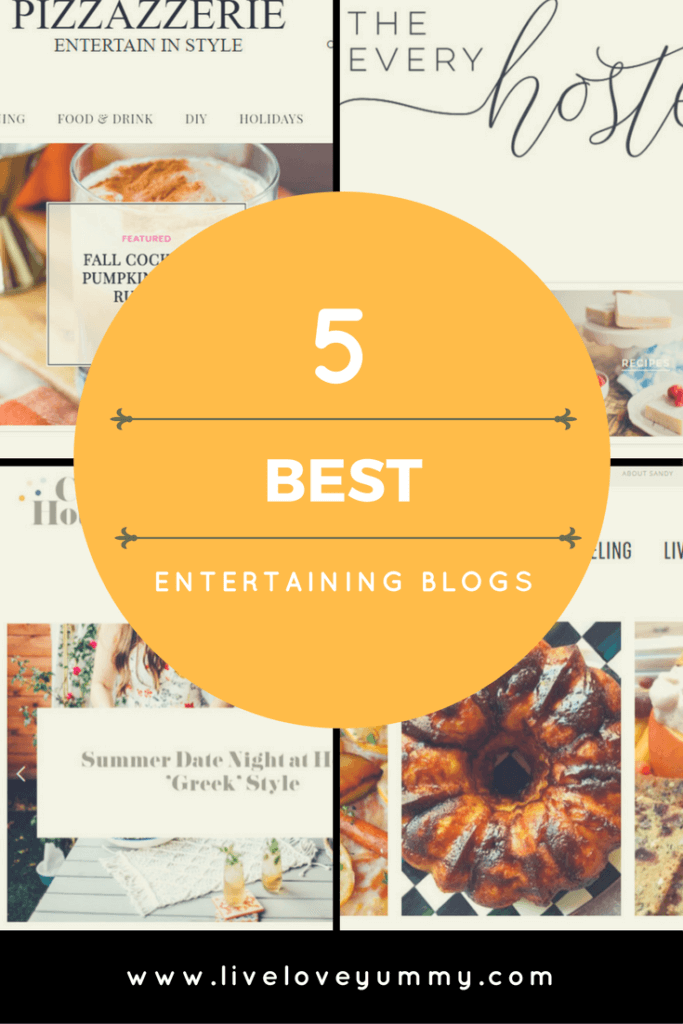 5 Best Entertaining Blogs Pinterest