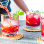 Sparkling Ctrawberry-Orange Punch Recipe