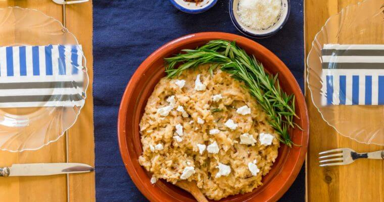Caramelized Onion Risotto Recipe