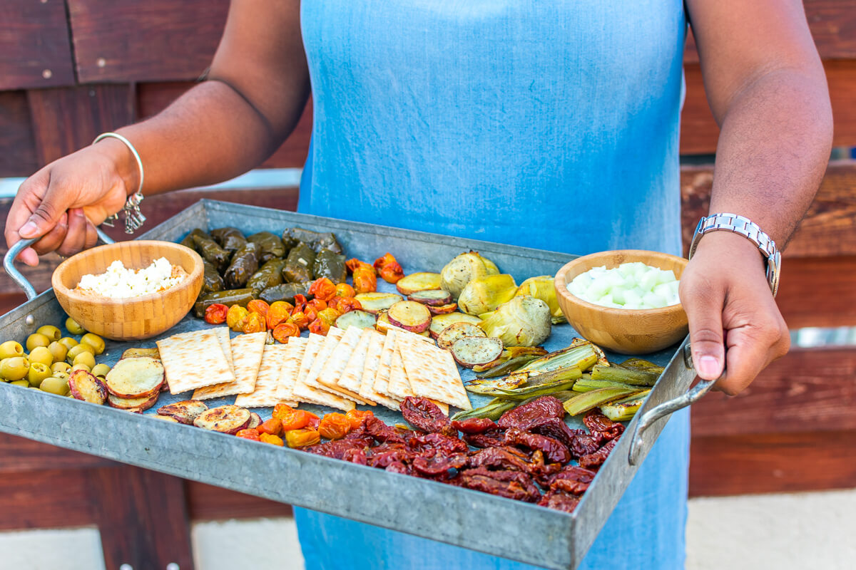 Learn How to Build a Vegetarian Mezze Platter