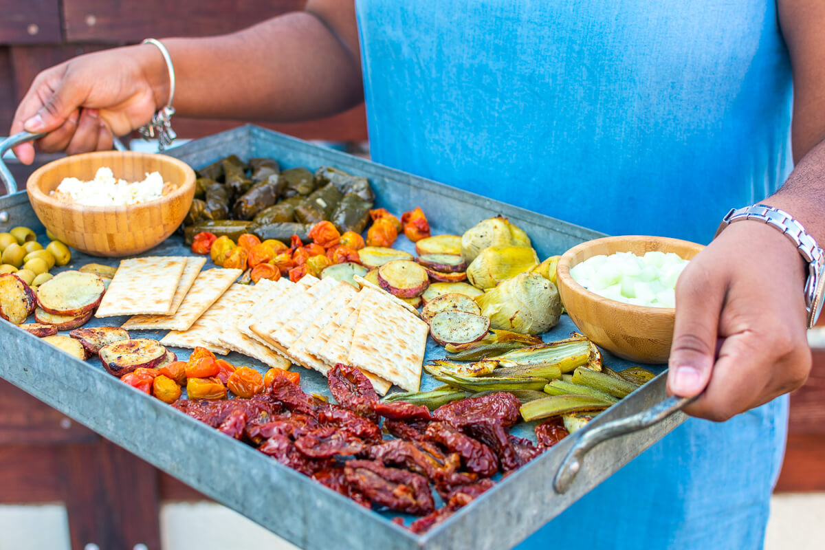 The Mezze Platter (Appetizer) Recipe