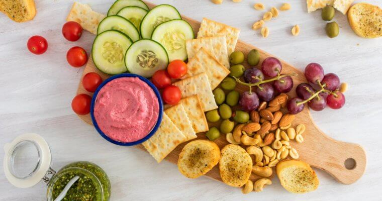 Healthy Vegan Appetizer Platter Recipe
