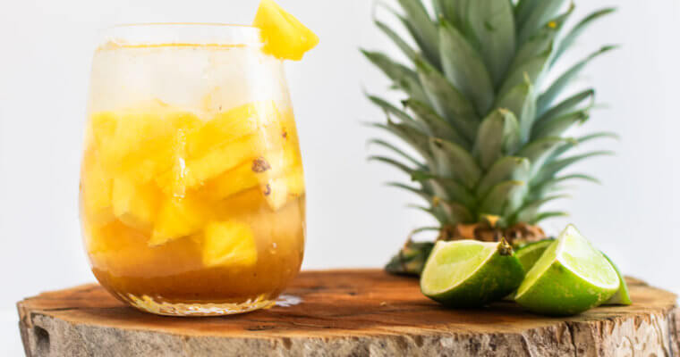 5 de Mayo Celebration: Pineapple Tamarind Agua Fresca Recipe