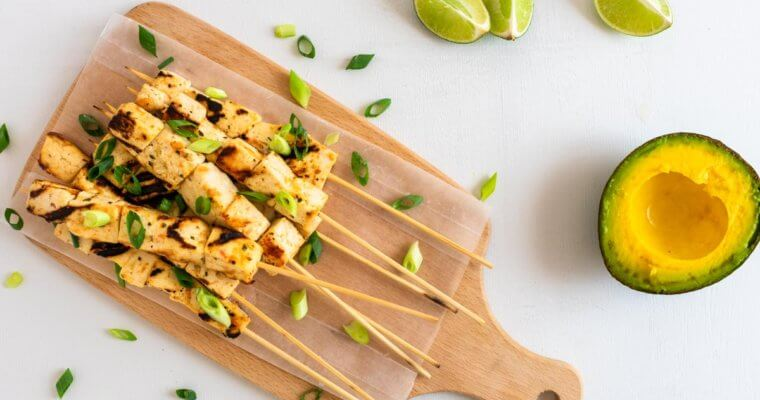Mexican Tofu Skewers Recipe