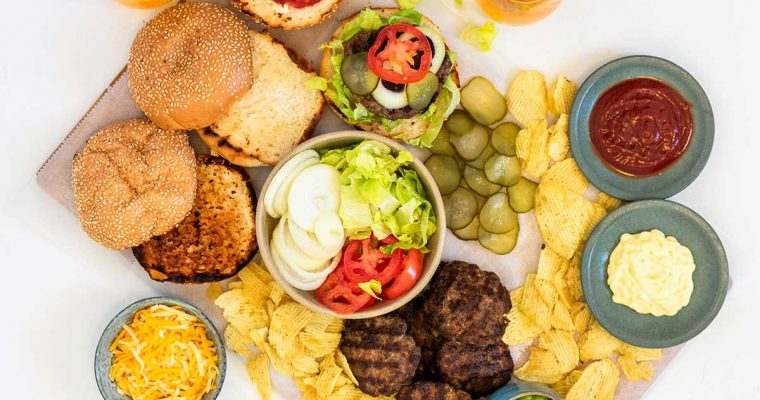 Build-Your-Own Burger Platter Recipe