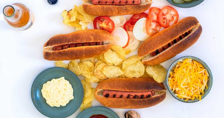 Build-Your-Own Hot Dog Platter Recipe